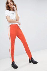 HUGO - Stretchhose mit Steg - Orange - Farbe:Orange