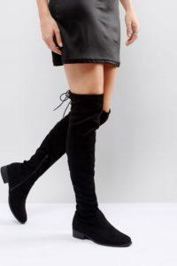 ASOS DESIGN - Alena - Ankle-Boots aus Leder mit mehreren Schnallen - Schwarz - Farbe:Schwarz