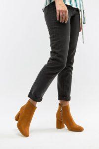 AllSaints - Ellis - Chelsea-Stiefel mit Nietenverzierung - Schwarz - Farbe:Schwarz