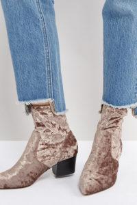ASOS - REGIONAL - Spitze Stiefel - Beige - Farbe:Beige