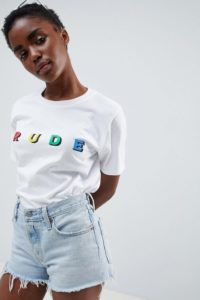 Adolescent Clothing - Rude - T-Shirt - Grau - Farbe:Grau
