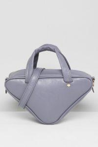 7X - Dreieckige Umhängetasche - Grau - Farbe:Grau