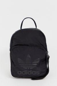 adidas Originals - Kleiner Rucksack in Schwarz - Schwarz - Farbe:Schwarz