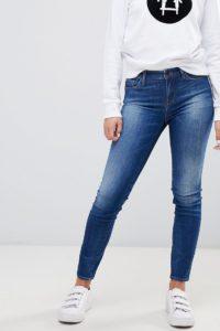 Armani Exchange - Enge Jeans - Blau - Farbe:Blau