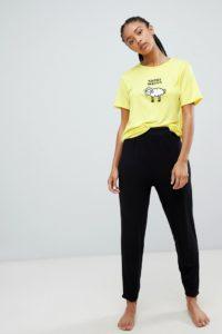 Adolescent Clothing - Sweet Dreams - Langärmliges Pyjamaset - Mehrfarbig - Farbe:Mehrfarbig