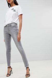 Armani Exchange - Enge Jeans - Grau - Farbe:Grau