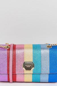 ALDO - Cambarreri - Glitzernde Umhängetasche in Regenbogenfarben - Mehrfarbig - Farbe:Mehrfarbig
