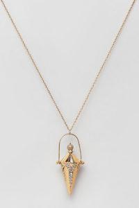 Accessorize - Limited Edition - Goldene Halskette mit Anhänger - Gold - Farbe:Gold