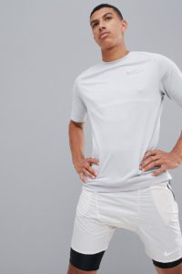 Nike Running - Medalist - Graues T-Shirt 891426-101 - Grau - Farbe:Grau