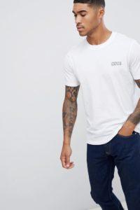 HUGO - Durned-U3 Reverse - Weißes T-Shirt mit kleinem Logo - Weiß - Farbe:Weiß