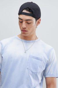 Weekday - Heat Technology - Blaues T-Shirt - Blau - Farbe:Blau