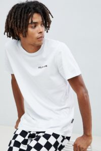 YOURTURN - Weißes T-Shirt aufgedrucktem Slogan - Weiß - Farbe:Weiß