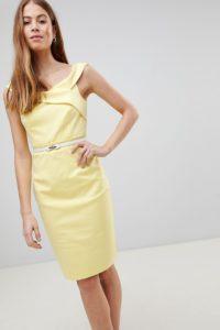 Paper Dolls - Gelbes Häkelkleid - Gelb - Farbe:Gelb