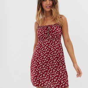 Hollister – Sommerkleid mit Blümchenmuster – Mehrfarbig