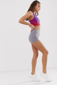 ASOS 4505 - Booty - Shorts - Silber - Farbe:Silber