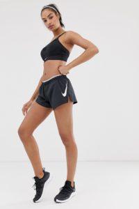 Nike Running - Elevate - Schwarze Shorts - Schwarz - Farbe:Schwarz