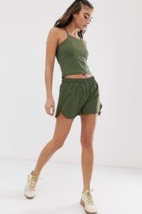 ASOS 4505 - Basic-Webhemd - Grün - Farbe:Grün