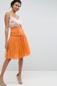 ASOS - Ballrock aus Tüll - Orange - Farbe:Orange