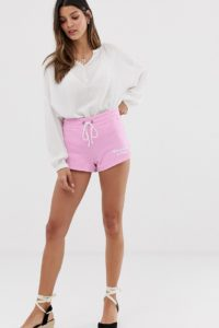 Abercrombie & Fitch - Jerseyshorts - Rosa - Farbe:Rosa