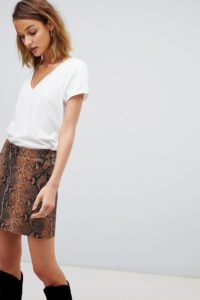AllSaints - Emelyn Tonic - T-Shirt - Weiß - Farbe:Weiß