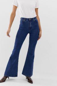 Abrand - Jeans mit ausgestelltem Bein im Stil der 70er-Jahre - Blau - Farbe:Blau