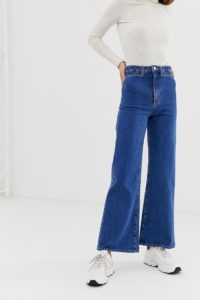 Abrand - Jeans mit weitem Bein - Blau - Farbe:Blau