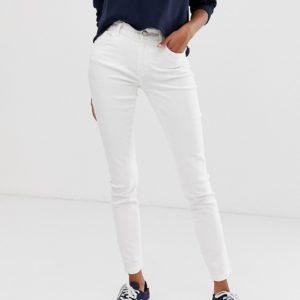 Pimkie – Enge Jeans in Weiß – Weiß
