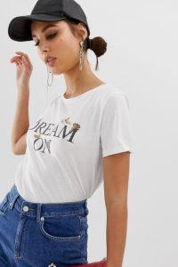 Na-kd - Weißes T-Shirt mit