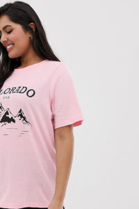 Daisy Street Plus - Lässiges T-Shirt mit