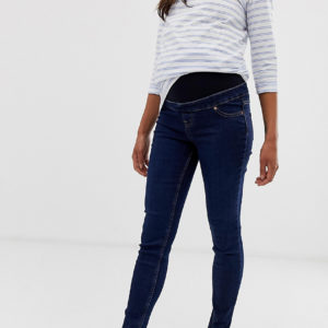 New Look Maternity – Jeggings in Blau – Blau