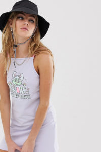 """Crooked Tongues - Camisole-KLeid mit """"dizzy bunny"""